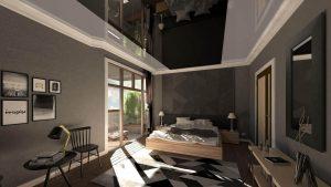 پروژه های سقف کشسان لاکر