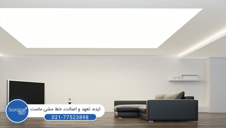 Transparent ceiling