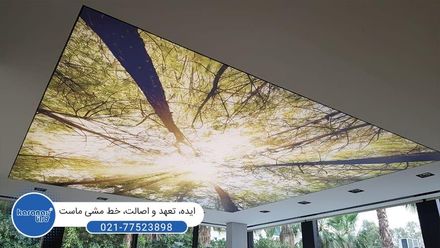 سقف کشسان چاپی