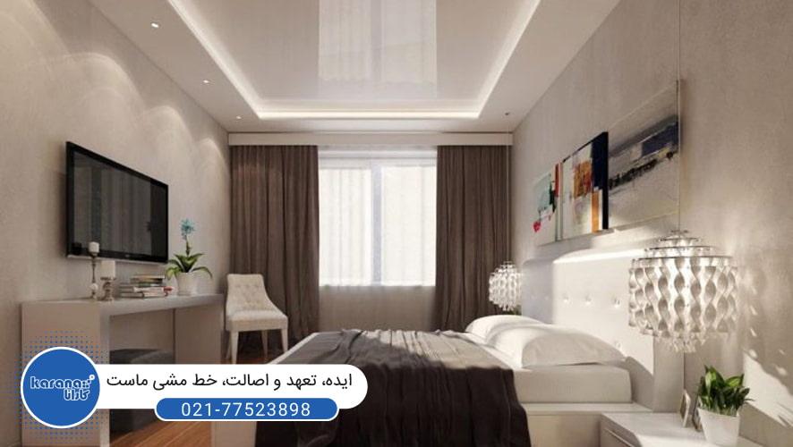 سقف های کشسان برای اتاق خواب