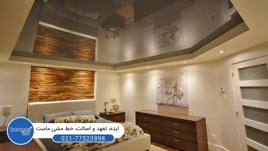 سقفهای کشسان برای اتاق خواب