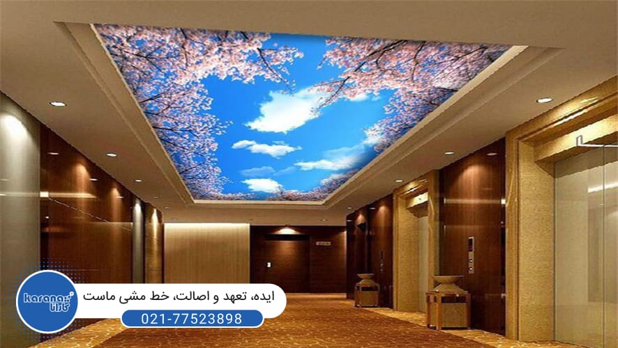 Three-dimensional ceilings